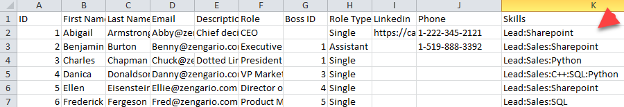 Creating an Excel / CSV File for Import – Organimi Help Center